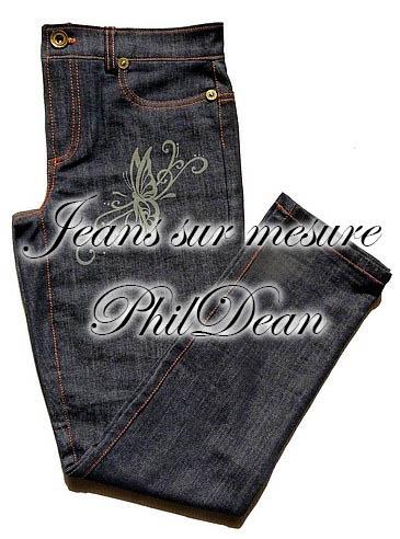 Exemple de jeans sur mesure